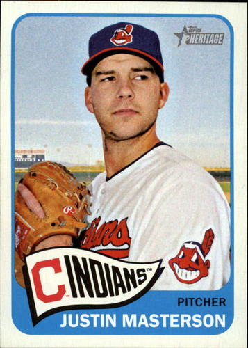 Photo of 2014 Topps Heritage #108 Justin Masterson