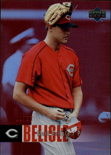 Photo of 2006 Upper Deck Special F/X Red #576 Matt Belisle /50