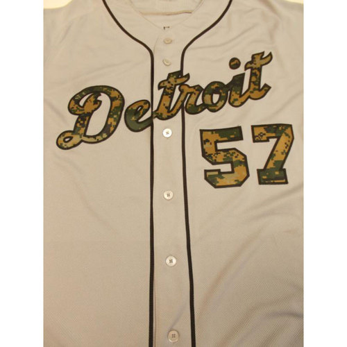 Photo of Game-Used Francisco Rodriguez Memorial Day Jersey