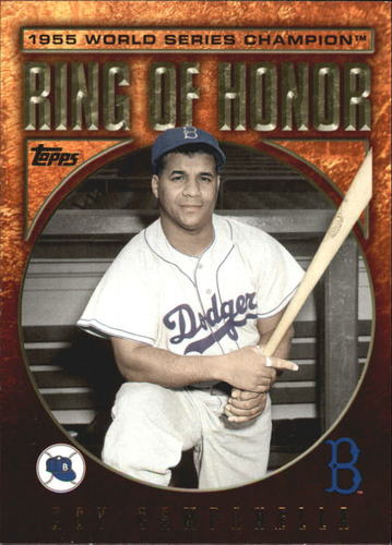 Photo of 2009 Topps Ring Of Honor #RH100 Roy Campanella