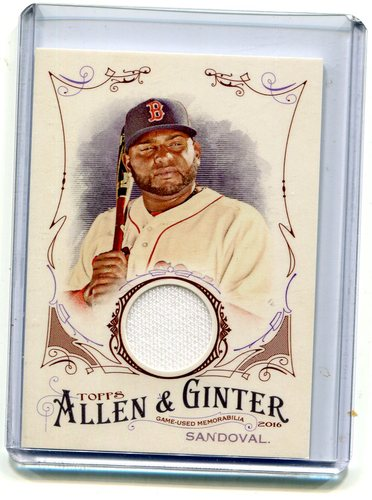 Photo of 2016 Topps Allen and Ginter Relics #jersey Pablo Sandoval