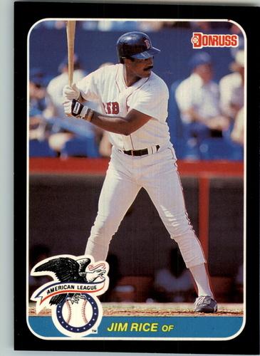 Photo of 1987 Donruss All-Stars #45 Jim Rice