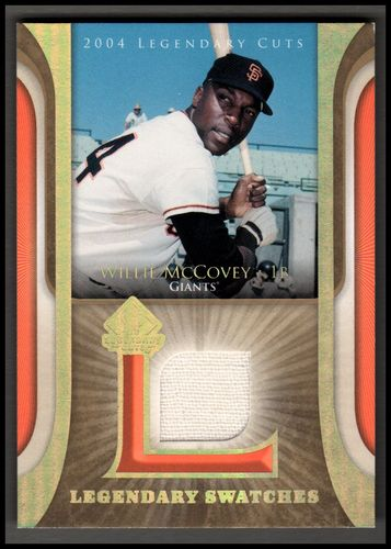 Photo of 2004 SP Legendary Cuts Legendary Swatches #WM Willie McCovey Pants