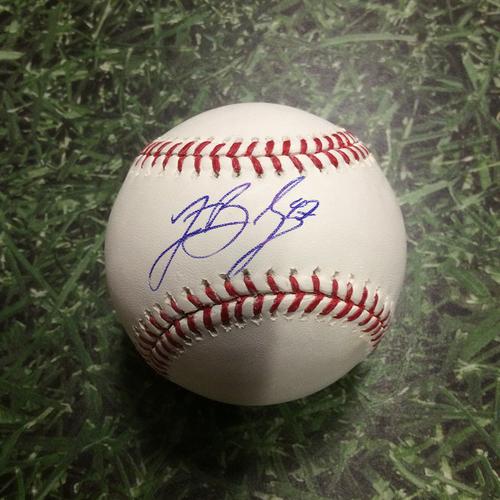 Photo of Jett Bandy Autographed Baseball