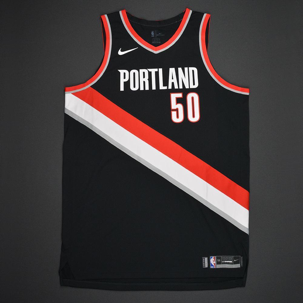 Caleb Swanigan - Portland Trail Blazers - 2017 NBA Draft - Autographed Jersey