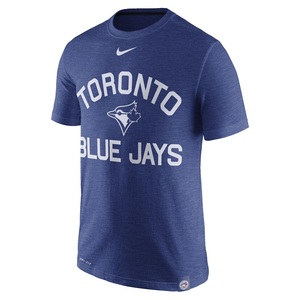 Toronto Blue Jays Dri-Fit Slub Arch Logo T-Shirt by Nike