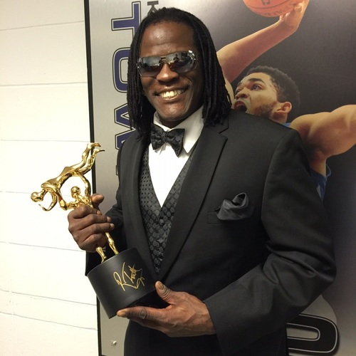 Photo of R-Truth SIGNED Replica Slammy Award