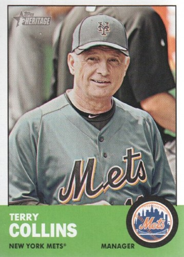 Photo of 2012 Topps Heritage #233 Terry Collins MG