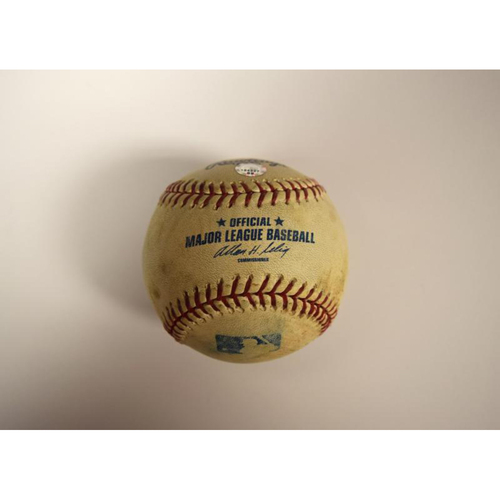 Photo of Game Used Baseball 2006 ALCS Game 4 (Tigers vs A's)
