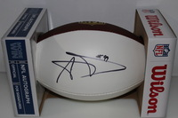 NFL - RAMS AARON DONALD SIGNED PANEL BALL (SLIGHT SIGNATURE SMEAR)