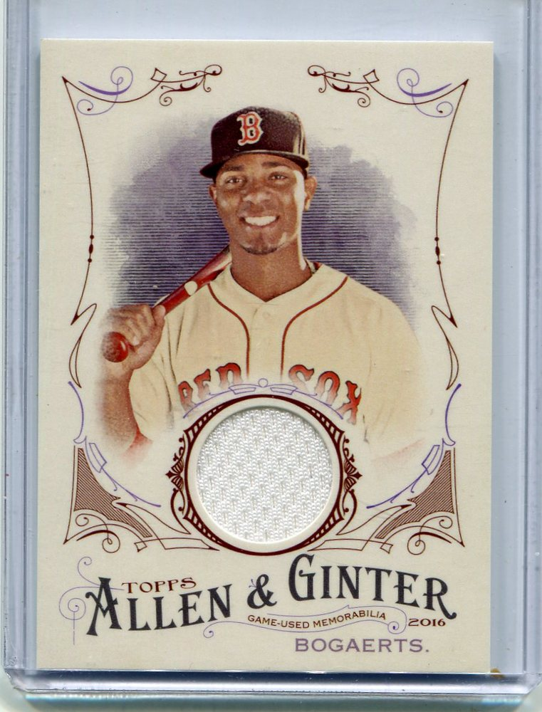 2016 Topps Allen and Ginter Relics #jersey Xander Bogaerts