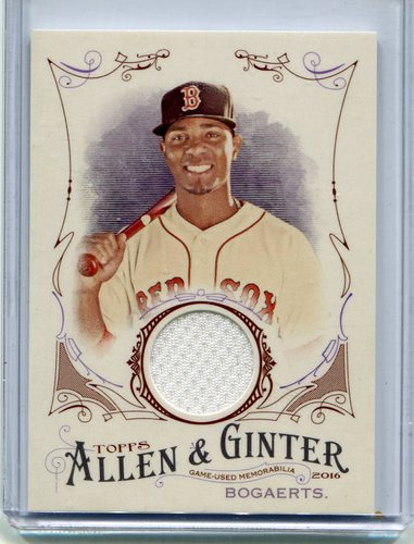 Photo of 2016 Topps Allen and Ginter Relics #jersey Xander Bogaerts