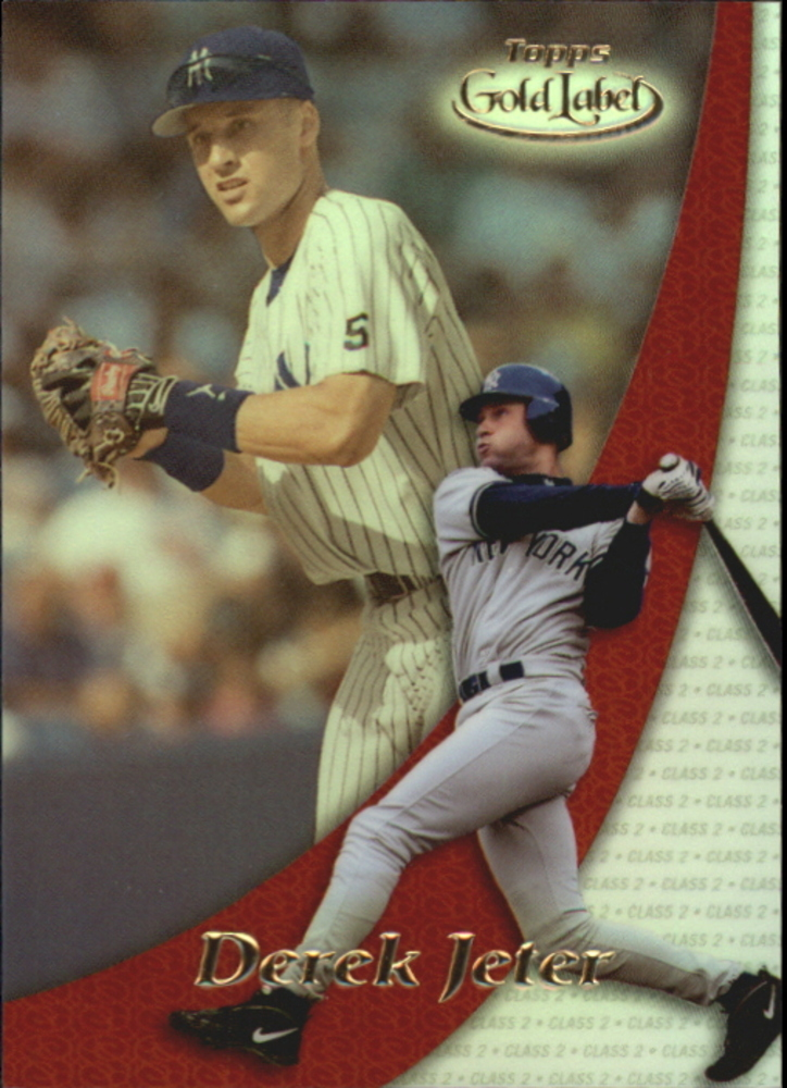 2000 Topps Gold Label Pre-Production #PP2 Derek Jeter