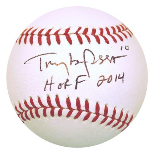 Photo of Cardinals Authentics: Tony LaRussa HOF 2014 Inscribed Autographed Baseball