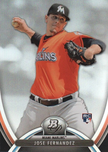 Photo of 2013 Bowman Platinum #85 Jose Fernandez RC
