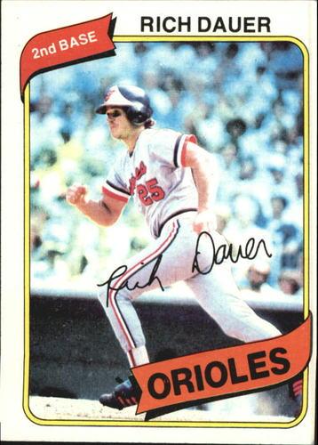 Photo of 1980 Topps #102 Rich Dauer