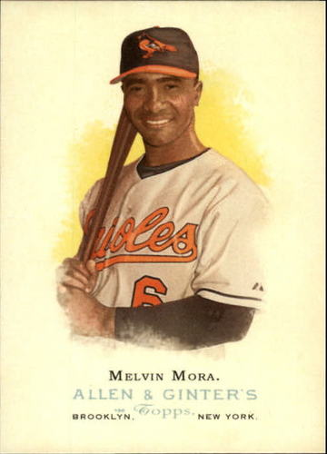 Photo of 2006 Topps Allen and Ginter #192 Melvin Mora
