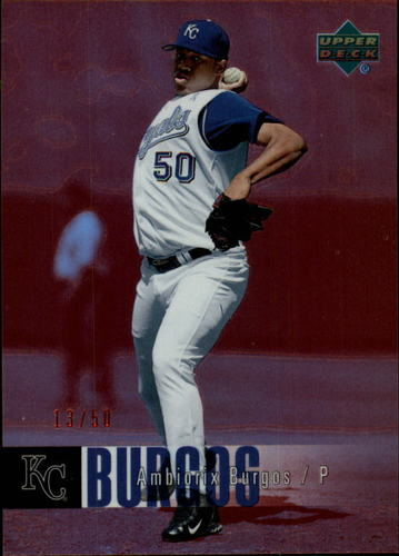 Photo of 2006 Upper Deck Special F/X Red #638 Ambiorix Burgos /50
