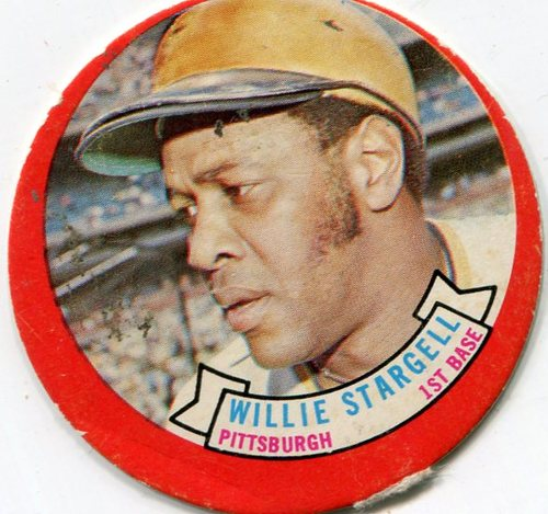 Photo of 1973 Topps Candy Lids #50 Willie Stargell