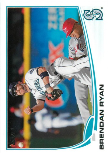 Photo of 2013 Topps #277 Brendan Ryan
