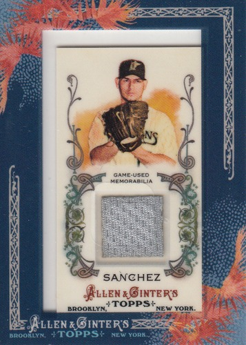 Photo of 2011 Topps Allen and Ginter Relics #ASA Anibal Sanchez