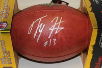 NFL - COLTS T.Y. HILTON SIGNED AUTHENTIC FOOTBALL