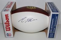 NFL - RAMS AARON GREEN SIGNED PANEL BALL