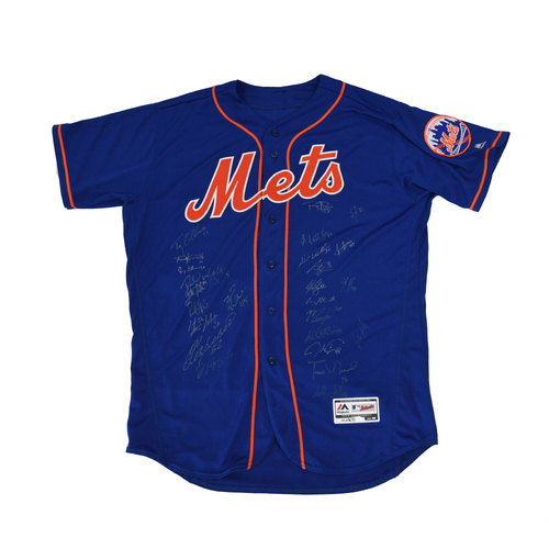 Photo of Amazin' Auction: Team Autographed Jersey - Lot # 7