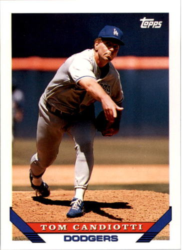 Photo of 1993 Topps #365 Tom Candiotti