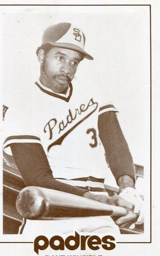 Photo of 1977 Padres Schedule Cards #65B Dave Winfield