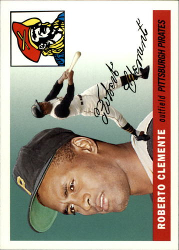 Photo of 2006 Topps Rookie of the Week #7 Roberto Clemente 1955