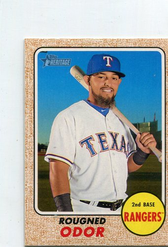 Photo of 2017 Topps Heritage Mini #17 Rougned Odor