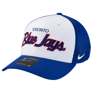 Toronto Blue Jays Local Swoosh Flex Cap White/Royal by Nike