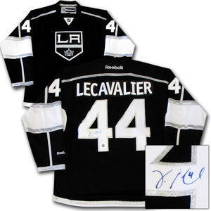 Vincent Lecavalier Autographed Los Angeles Kings Jersey
