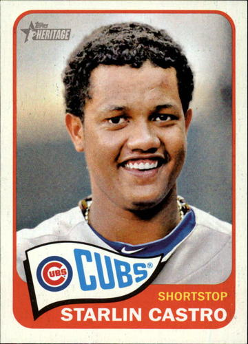 Photo of 2014 Topps Heritage #110 Starlin Castro