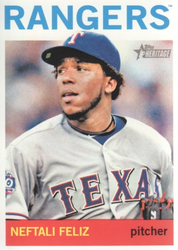 Photo of 2013 Topps Heritage #363 Neftali Feliz