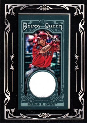 Photo of 2013 Topps Gypsy Queen Framed Mini Relics #MMR Mitch Moreland