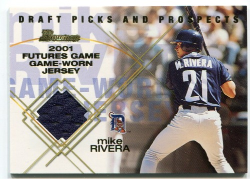 Photo of 2001 Bowman Draft Futures Game Relics #FGRMR Mike Rivera