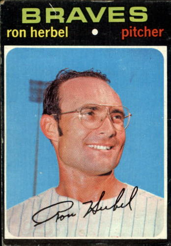 Photo of 1971 Topps #387 Ron Herbel