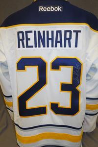 #23 Sam Reinhart Autographed Buffalo Sabres Jersey