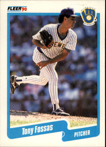 Photo of 1990 Fleer #323 Tony Fossas RC
