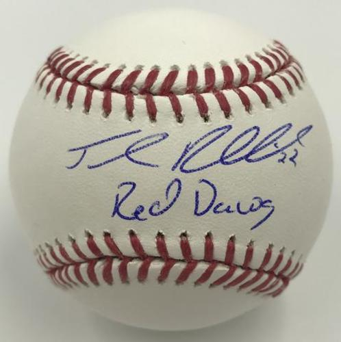 "Photo of Josh Reddick ""Red Dawg"" Autographed Baseball"