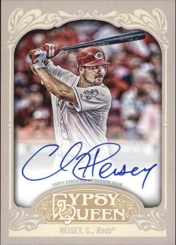 Photo of 2012 Topps Gypsy Queen Autographs #CH Chris Heisey AUTO