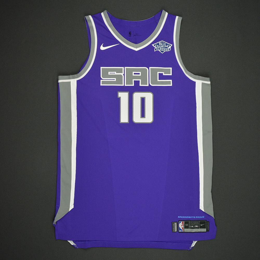Frank Mason III - Sacramento Kings - 2017 NBA Draft - Autographed Jersey
