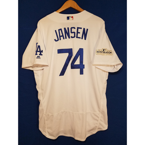 Photo of Kenley Jansen Home 2017 Team-Issued Post Season Jersey