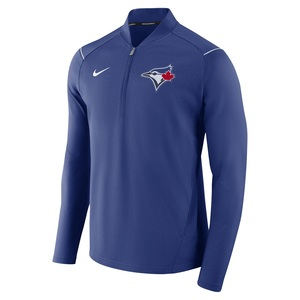 Toronto Blue Jays 1/2 Zip Elite Fleece Jacket by Nike