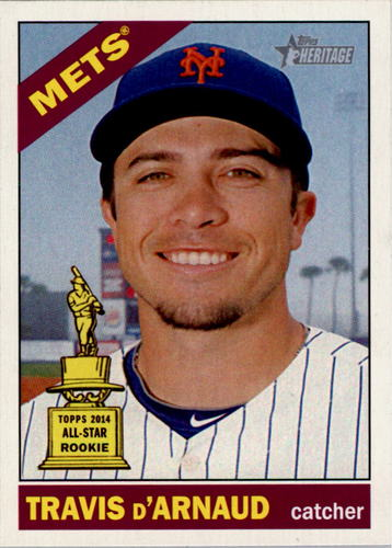 Photo of 2015 Topps Heritage #413 Travis d'Arnaud