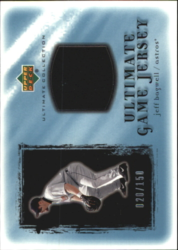 Photo of 2001 Ultimate Collection Game Jersey #UJB Jeff Bagwell
