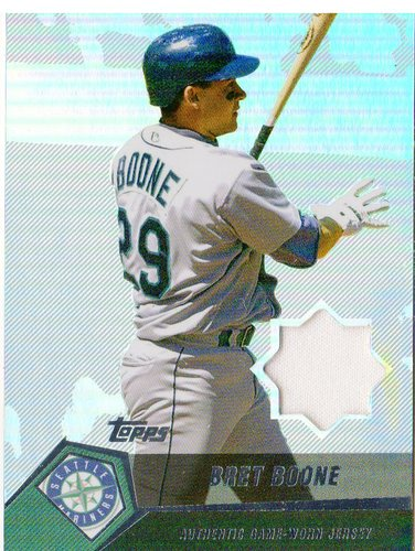 Photo of 2004 Topps Clubhouse Relics #BB Bret Boone Jsy E