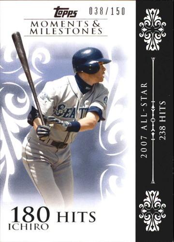 Photo of 2008 Topps Moments and Milestones #63-180 Ichiro Suzuki